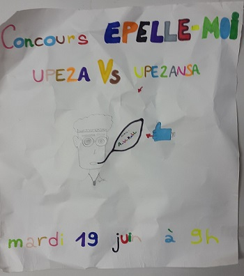 Concours Epelle-moi au collège
